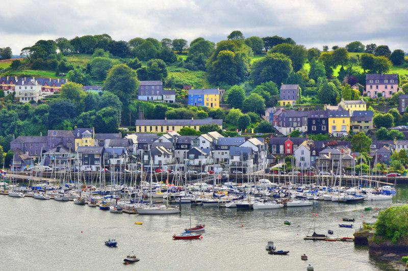view of Kinsale, Ireland