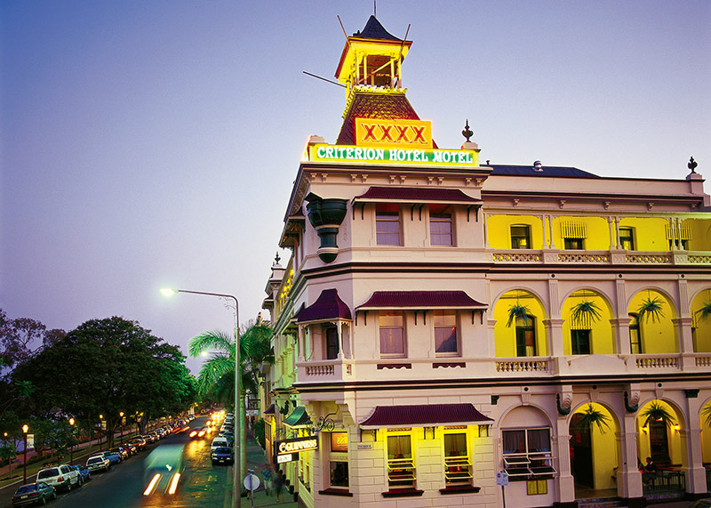 Criterion Hotel Rockhampton image: Tourism and Events Queensland