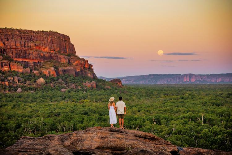 a couple at Kakadu National Park