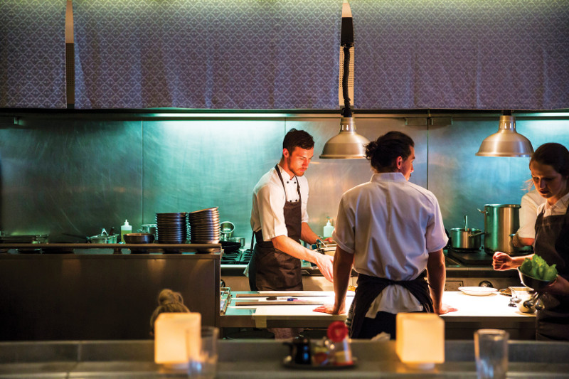 chefs at Supernormal kitchen