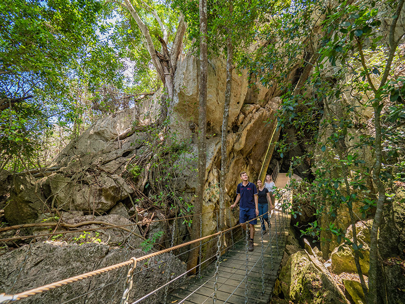Capricorn Caves image: Tourism and Events Queensland