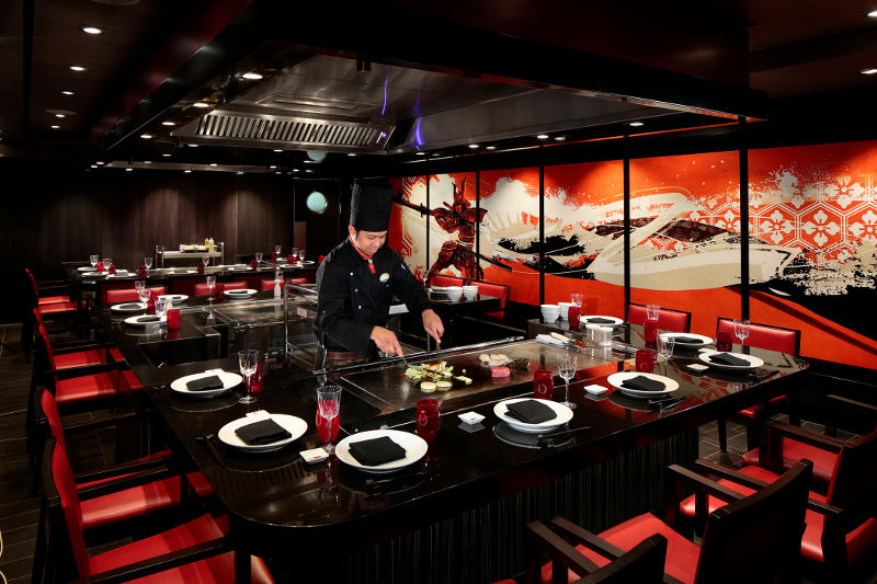 izumi japanese restaurant interior
