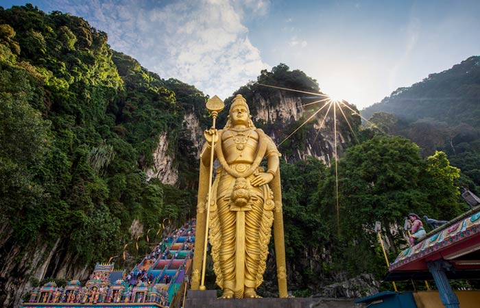 airports around the world australians use most - batu caves, malaysia