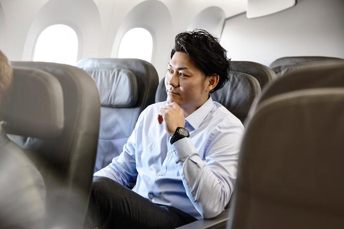 Jet Star Business Class reclining chairs