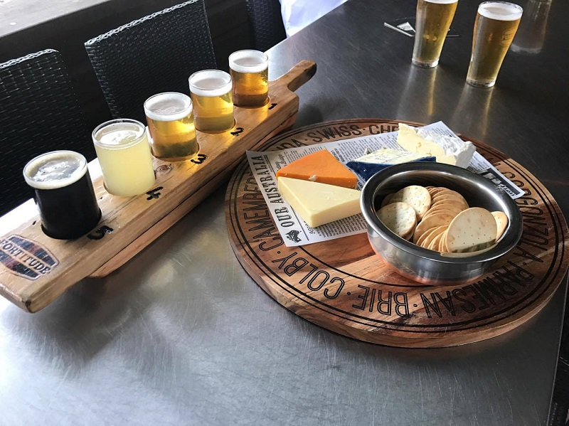 There's always room for cheese....and a beer tasting!