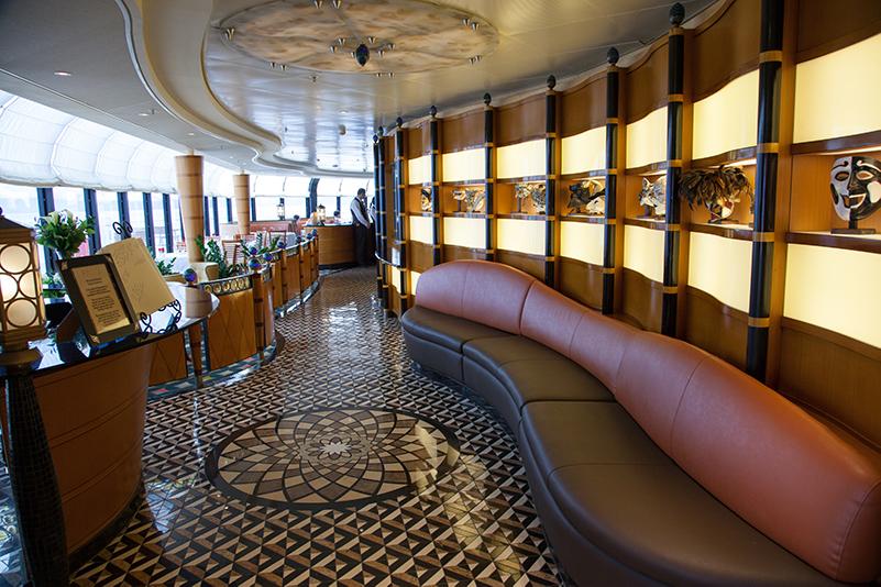 Palo restaurant, Disney Cruise Line
