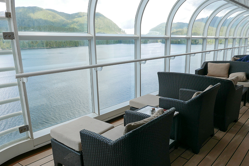 View from Disney Cruise Line ship