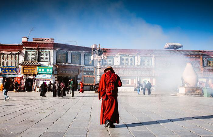 Tibetan capital, Lhasa