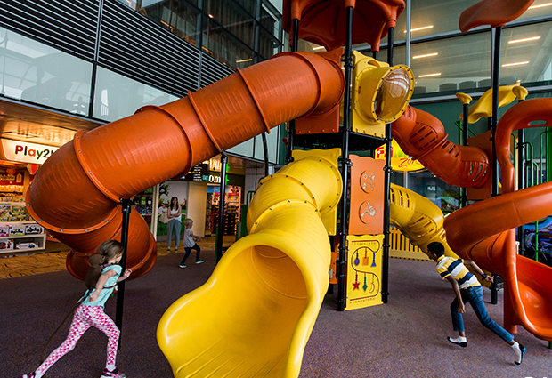 Playground at Singapore Changi Airport