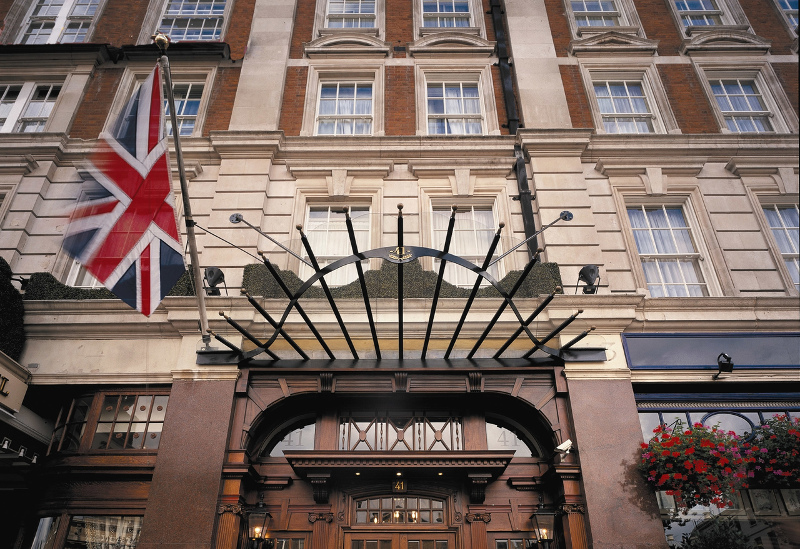 Hotel 41's Vintage Exterior. Photo courtesy of Red Carnation Hotels