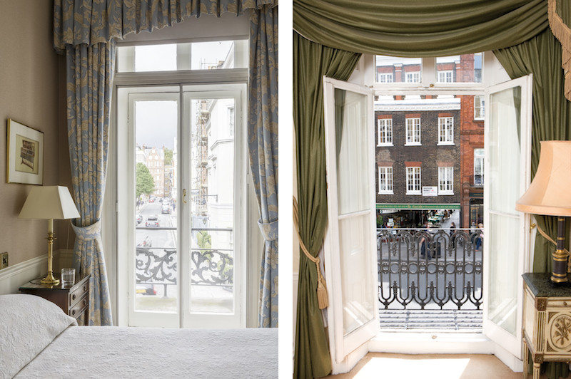 The varied views of the carefully curated hotel