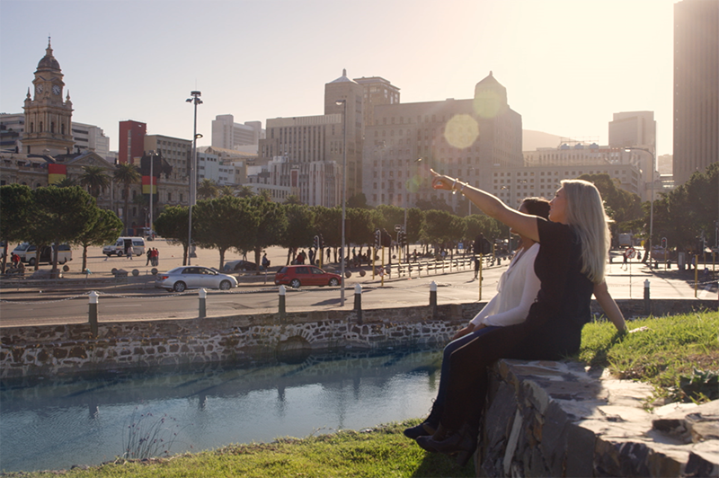 Janice-Lynn and Greer kick things off in Cape Town with a city tour