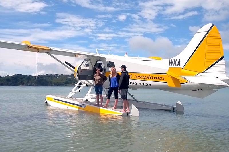 auckland seaplanes tour