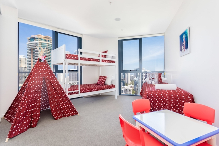 The Ruby Apartments is a new Gold Coast hotel great for families
