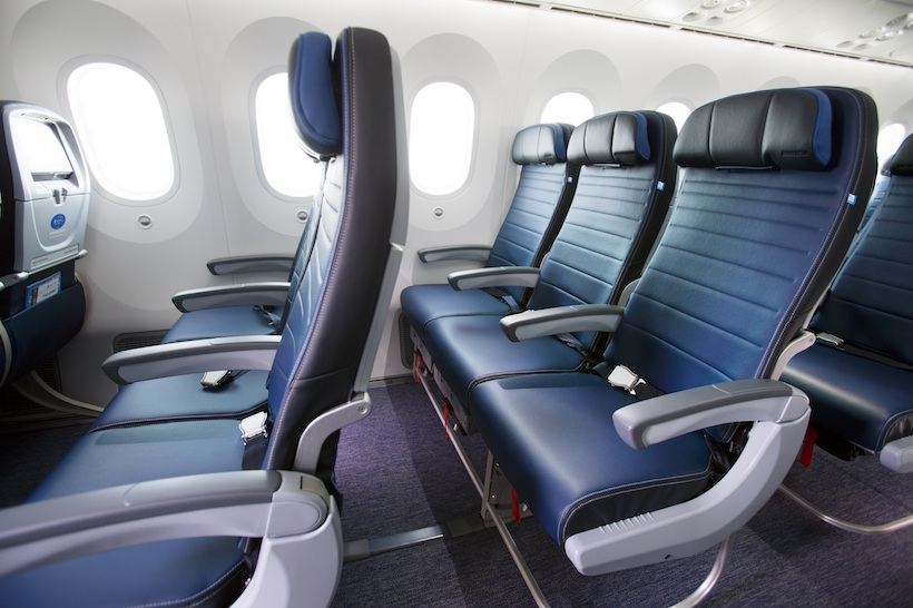 Economy Plus seating onboard the Dreamliner 787-9. Image: Courtesy.