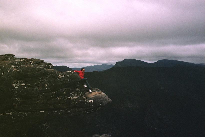 The Balconies cliff edge at Grampians National Park. Photo: Sam Aldenton.