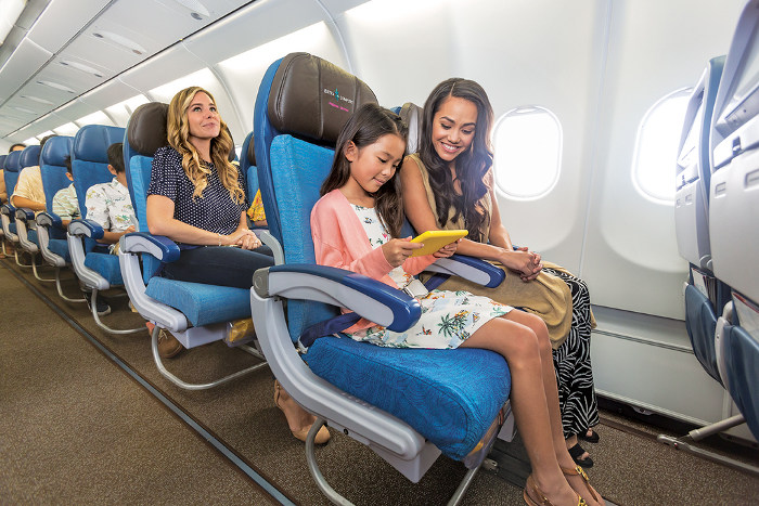 hawaiian airlines extra comfort premium seating