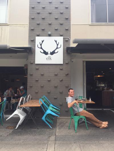 Adam Brand at ELK cafe on the Gold Coast, Queensland, Australia.