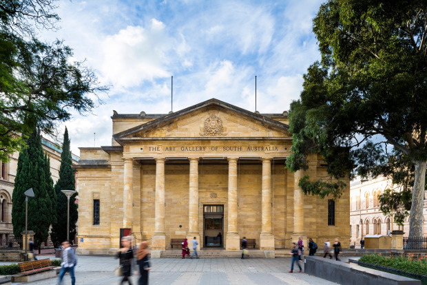 Art Gallery of South Australia, Adelaide. Picture: Sam Noonan