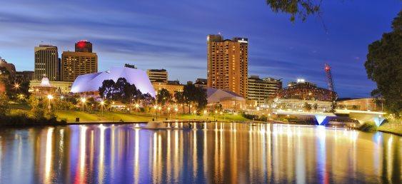 Adelaide hotels skyline