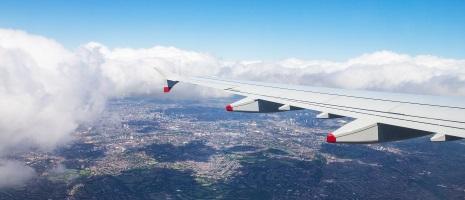 Sydney to London Flight Aerial View