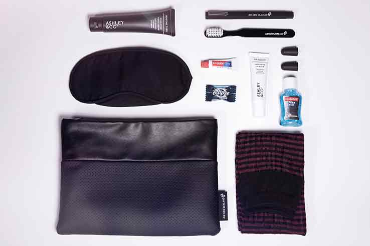 Air New Zealand's Business Premier amenity kit