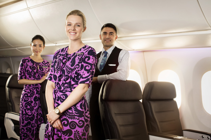 Air New Zealand's award-winning service