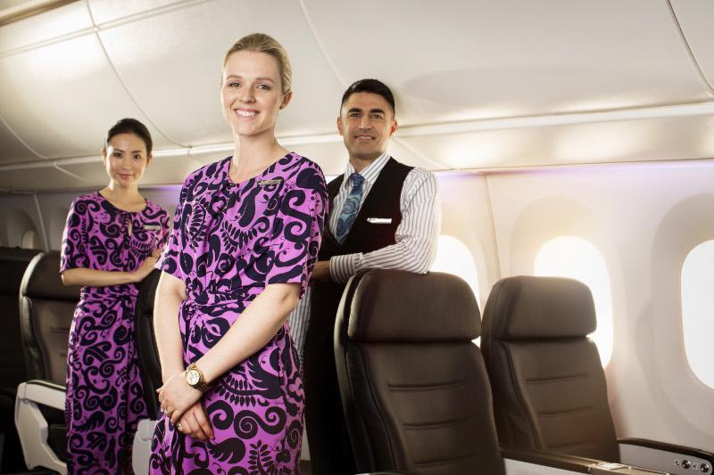 Air New Zealand's award-winning service