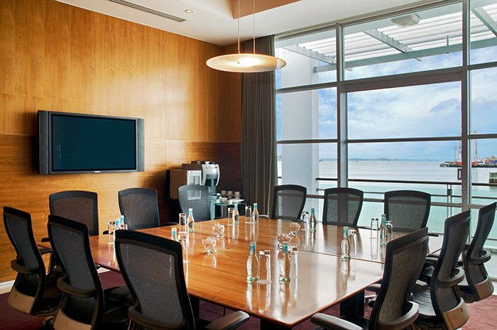 hilton auckland boardroom