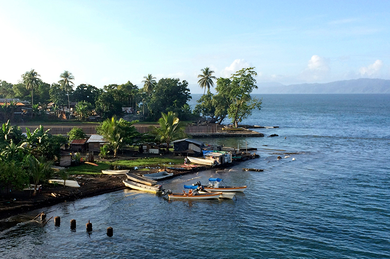 Alotau Port in the Milne Bay region of PNG