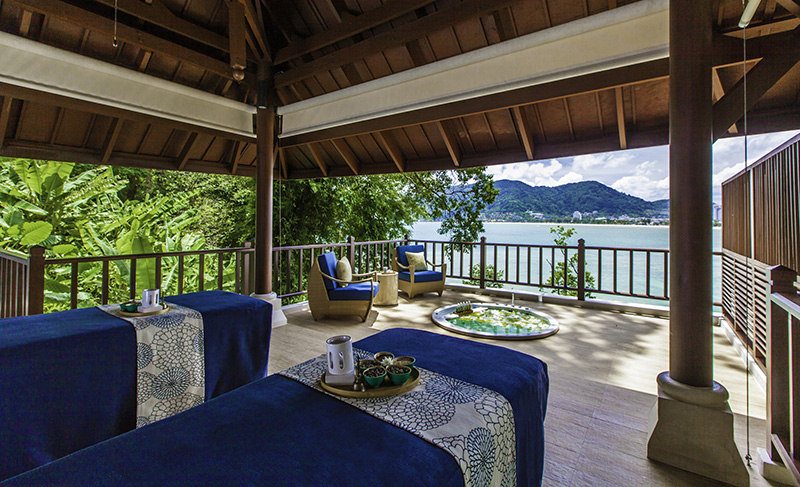 Amari Phuket overlooks the Andaman Sea in a secluded bay.