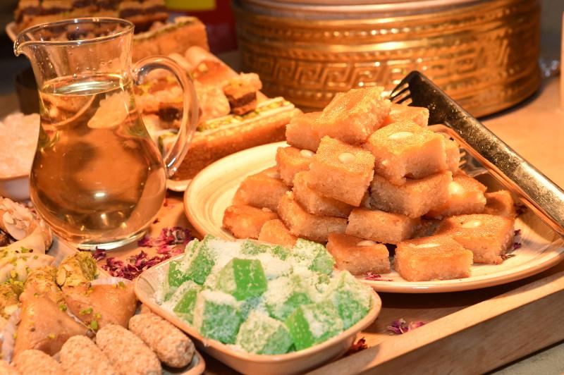 sweet middle-eastern food