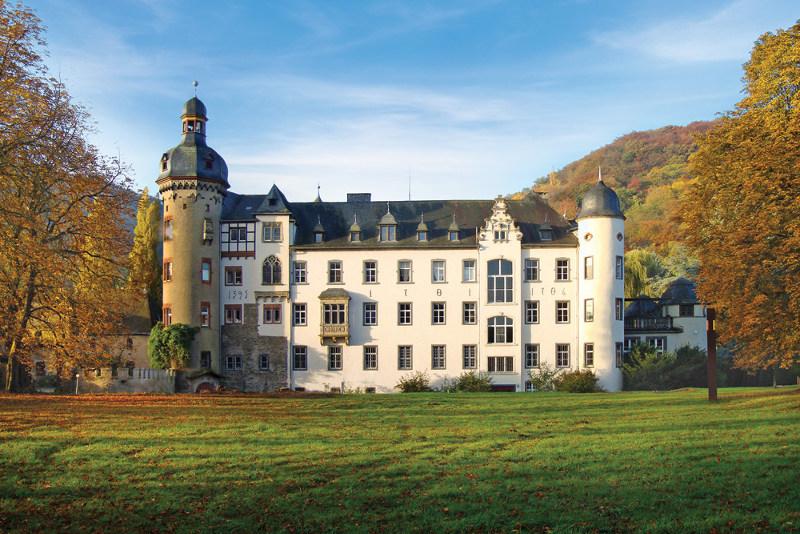 Namedy Castle in Andernach, Germany.