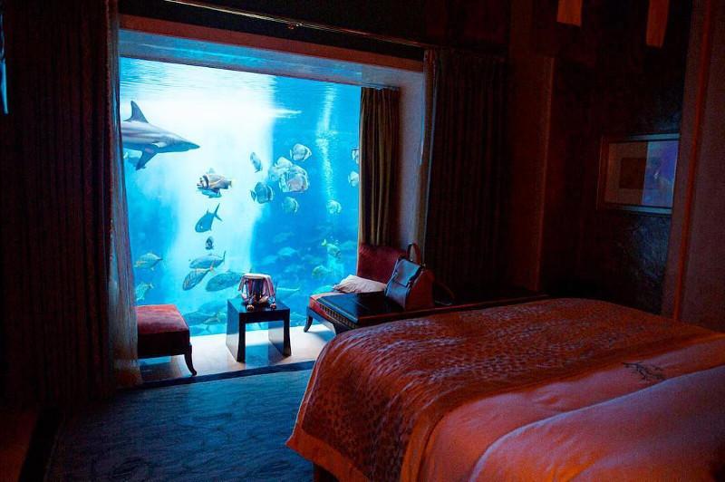 underwter suite atlantis the palm dubai