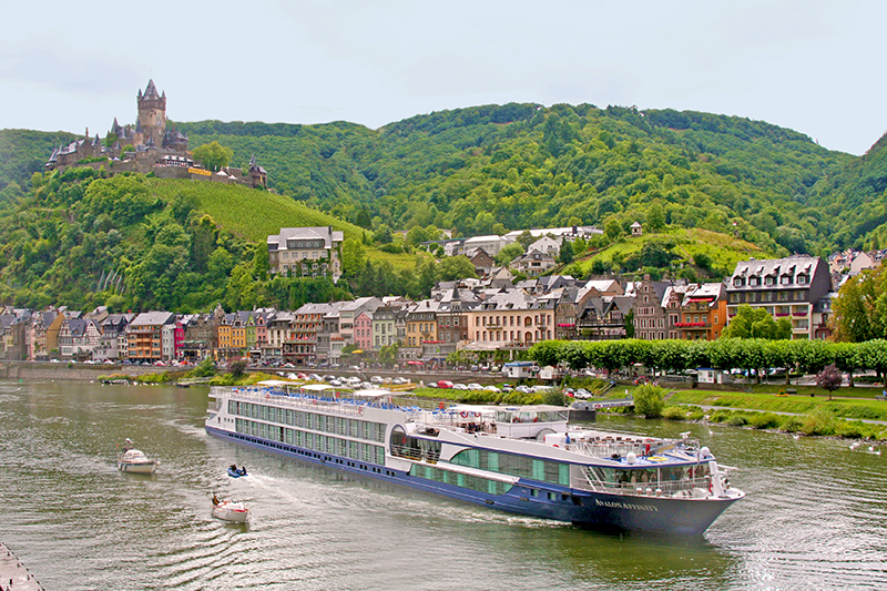 Avalon Affinity on the moselle river