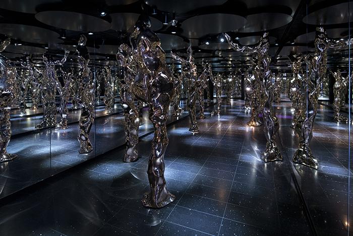 Celebrity Edge art installation Fredrikson Stallard