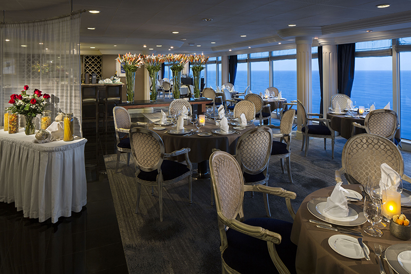 aqualina restaurant on board azamara journey