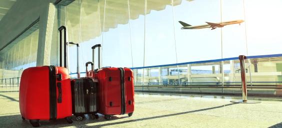 Baggage at Rome Airport