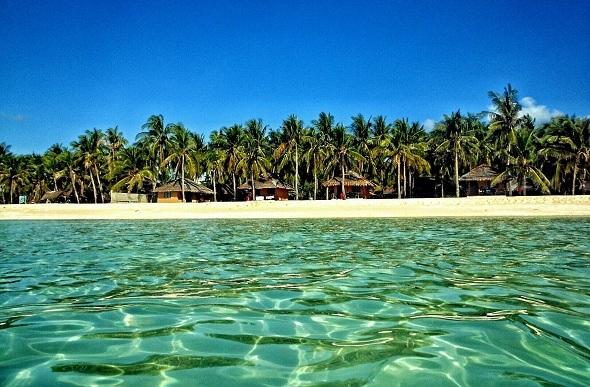 tropical beach bali