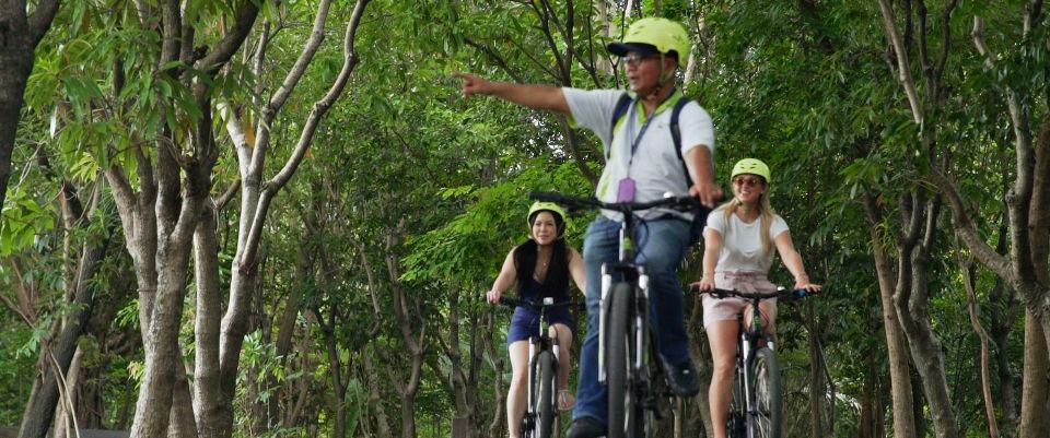 riding in Bang Krachao bangkok