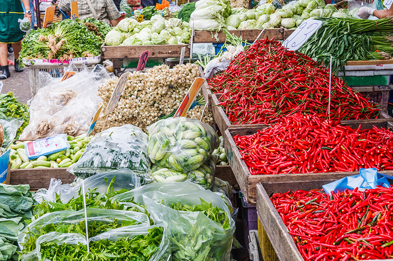 Bangkok wet market