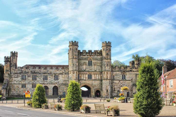 battle abbey gatehouse east sussex