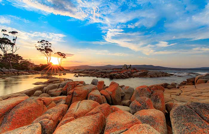 Bay Of Fire, Tasmania