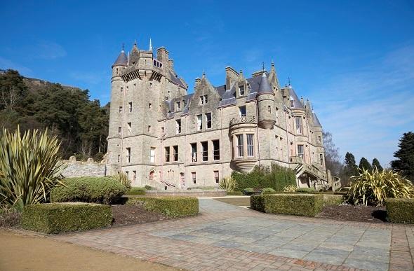 belfast castle exterior