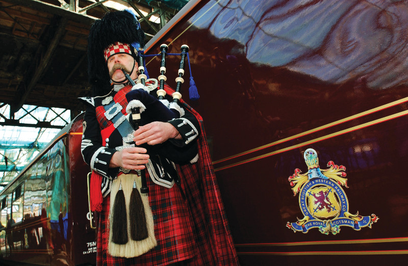 Belmond Royal Scotsman: Edinburgh to Aberdeen