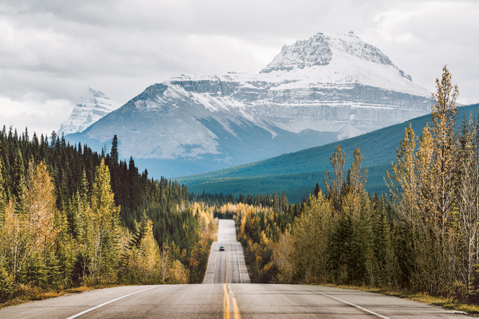 best roadtrips Canada - Icefields Parkway