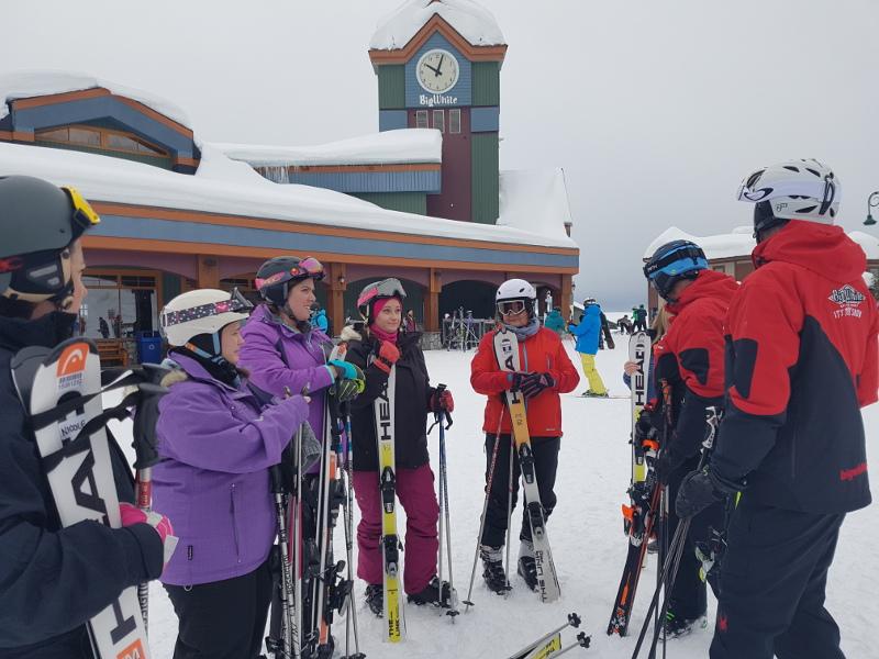 Ski Lesson Big White