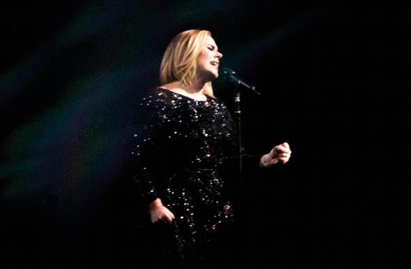 Singer Adele.