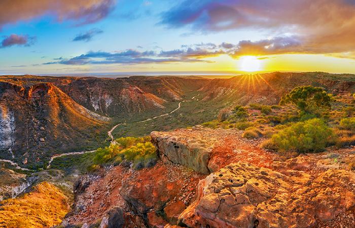 Cape Range National Park, located along WA's stunning Coral Coast