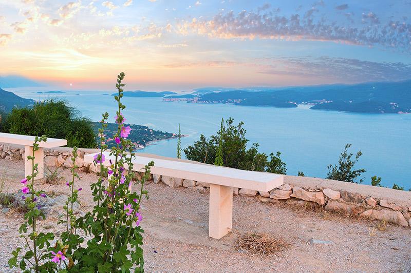 View of coast near Viganj village, Croatia